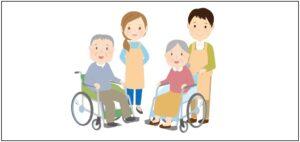 介護認定の申請方法を表す画像