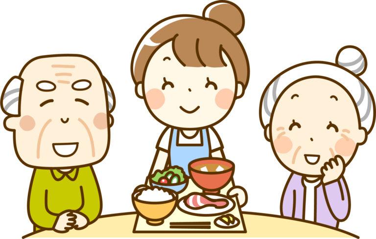 高齢者に提供する食事